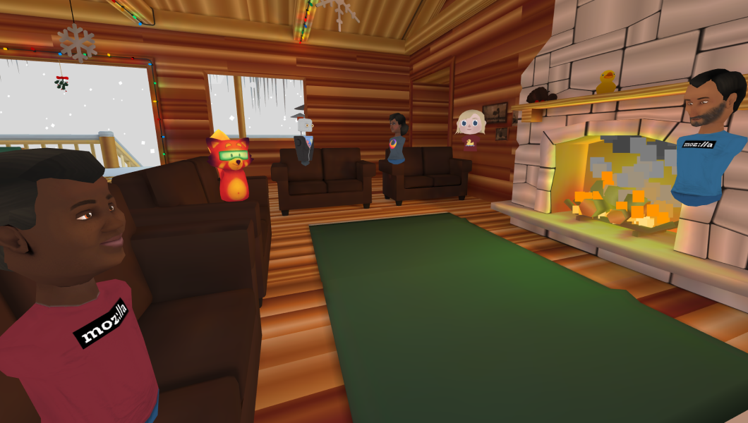 Screenshot of Hubs